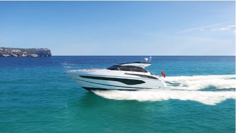 A TRUE ON-WATER ADRENALIN RUSH WITH THE NEW PRINCESS V50